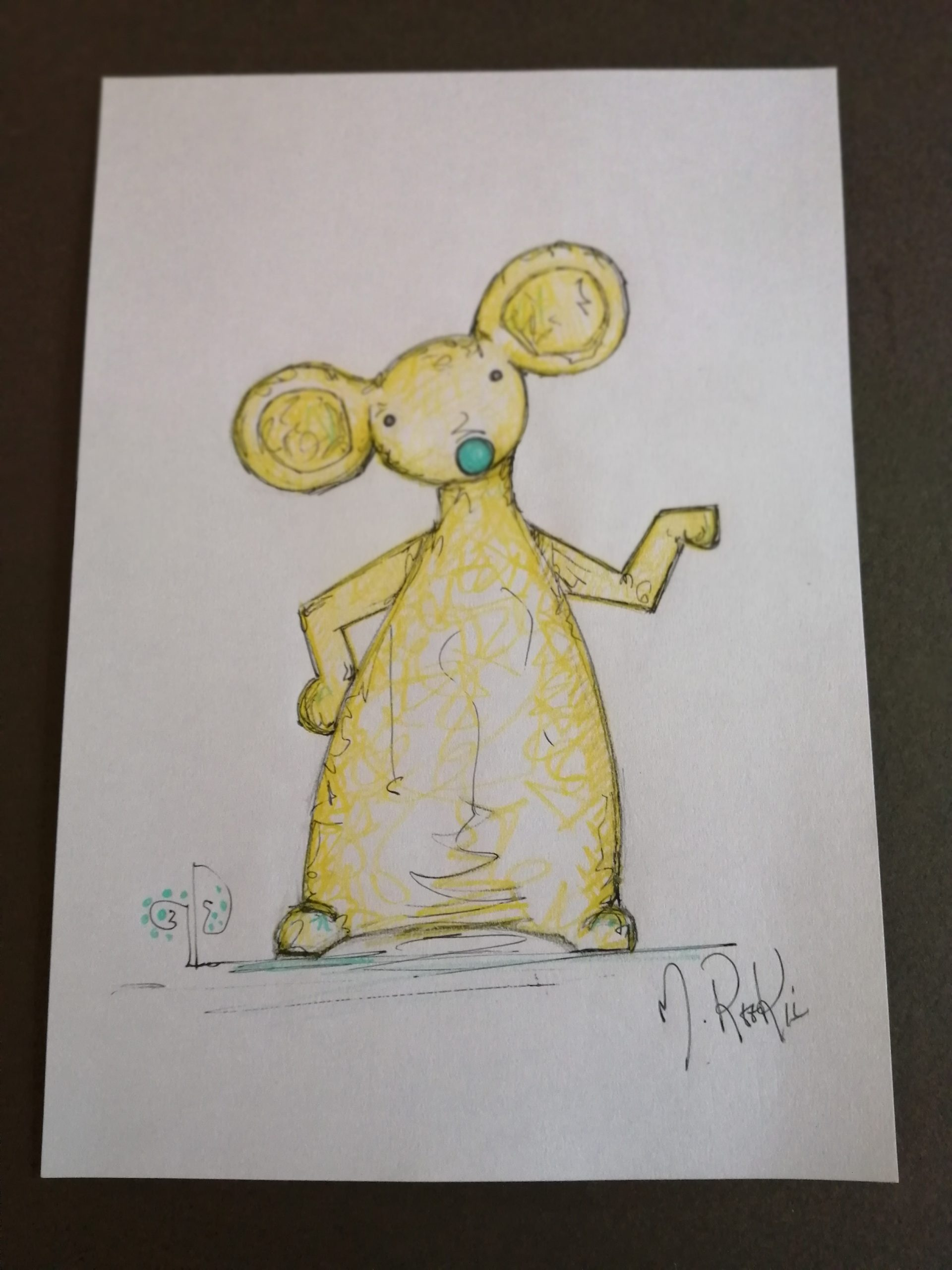Sketch 'Yellow Mouse