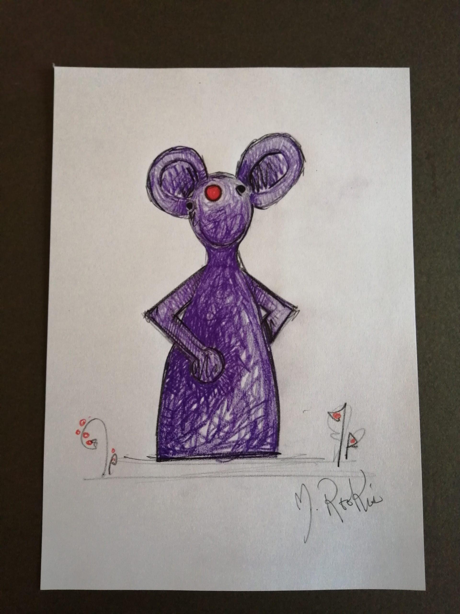 Sketch 'Purple Mouse