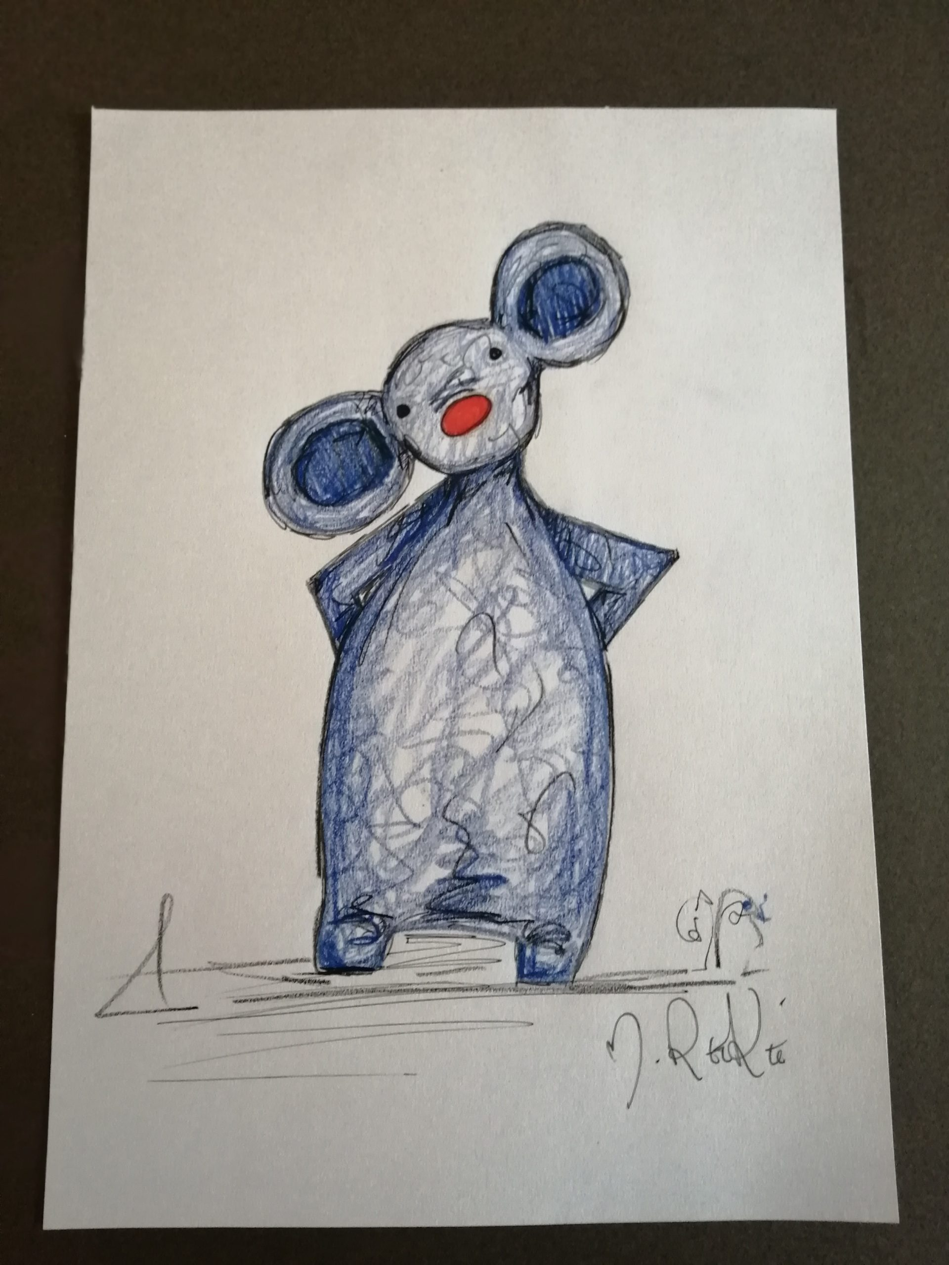 Sketch 'Blue Mouse